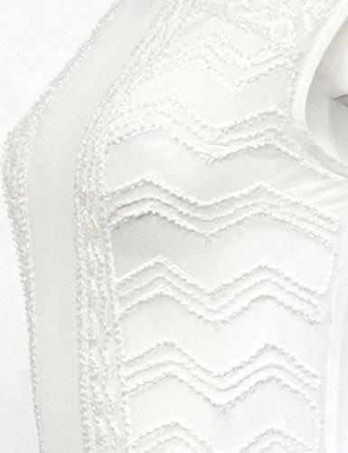 GIORGIA Damen Body Weiß - weiß