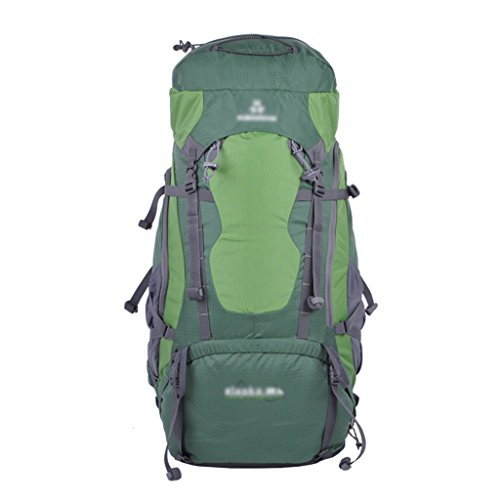 HWLXBB Borsa per alpinismo all'aperto Uomini e donne 65L Borsa per alpinismo multifunzione impermeabile Escursioni alpinismo Zaino per il tempo libero all'alpinismo zaino ( Colore : B ) B