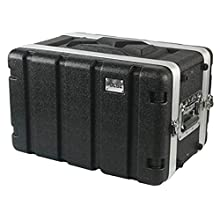 Pulse ABS-6US 19 Inches Rack ABS Flight Case, 6U Short