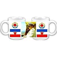 Smithfield Mariscal Tito Yugoslavia Souvenir Taza de café