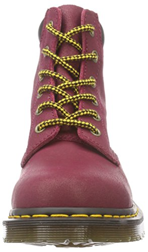 Dr. Martens - 939 Greasy Suede Deep Red, Scarpe da barca Donna Rosso (Rot (Deep Red))