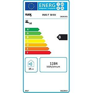 Fleck 3626163 Termo Eléctrico DUO 7, 50 L, 230 V, Fabricado para ser instalado en España
