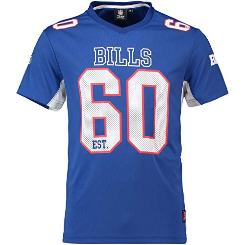 Majestic Athletic Buffalo Bills NFL Moro Poly Mesh Jersey Tee T-Shirt Trikot