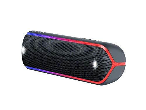 Sony SRS-XB32 Enceinte Portable Bluetooth Extra Bass Waterproof avec Lumières - Noir (Reconditionné)