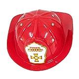 Speelgoed G77/GP30 - Feuerwehr Helm, schwarz / rot
