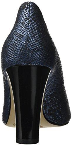 Caprice Damen 22402 Pumps Blau (Ocean Lizard)