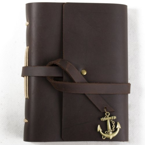 unique-leather-journal-diary-with-vintage-anchor-handmade-blank-paper-brown-a6-with-gift-box