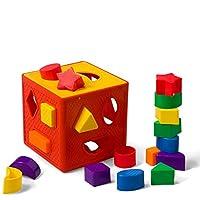 YOINHO Baby Blocks Shape Sorter Toys Puzzle children