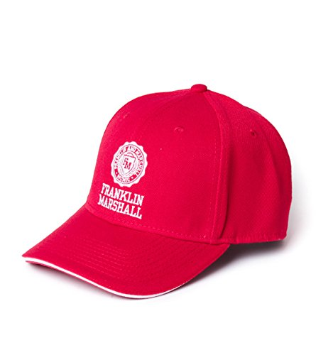Franklin-Marshall-Patrol-Red-Baseball-Cap