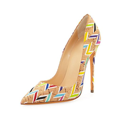 Ubeauty - Chaussures Femme - Chaussures À Talons - Chaussures À Talons Classiques - Multicolor Coloured Shoes