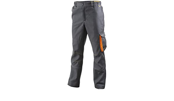 99a7be07454f3 Pantalon G-Rok Carbone/Orange Taille XS Molinel: Amazon.fr: Bricolage