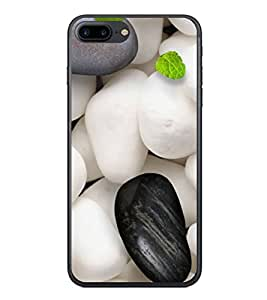 PrintVisa Designer Back Case Cover for Apple iPhone 7 Plus (Shapped Marble and Colour Stone Design )
