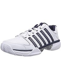 K-Swiss Performance Ks Tfw Hypercourt Exp Ltr Hb-white/Navy/Silver-m - Zapatillas de tenis Hombre
