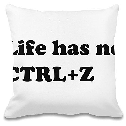 Das Leben hat Keine Ctr Z - Life Has No Ctr Z Decorative Pillow Case 100% Soft Polyester Cushion Cover Decorative Bedding Accessories