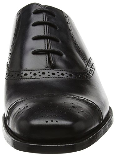 BARKER Flynn, Scarpe Stringate Oxford Uomo Black (Black Calf)
