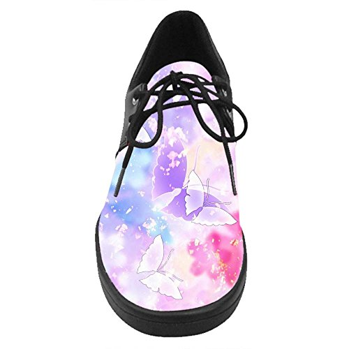 Dalliy Butterfly Costume Lace Up Chaussures Casual Baskets B