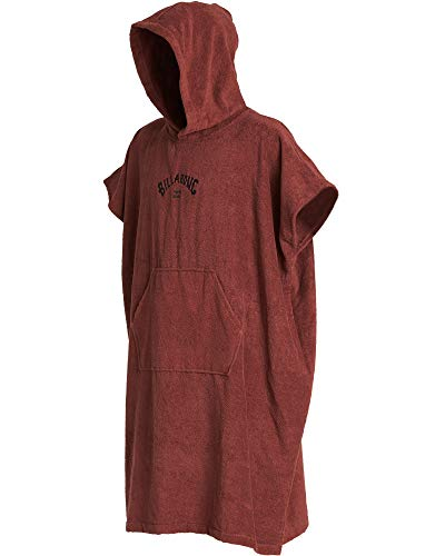 BILLABONG Hooded Poncho Change Robe Wine Q4BR01