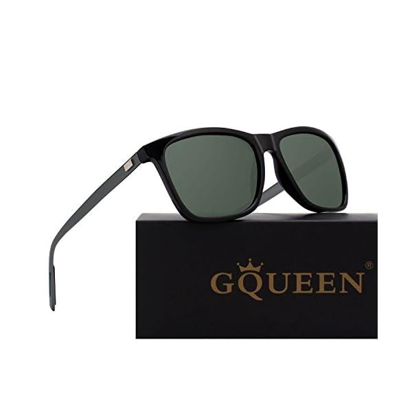 42355a24bc Complementos GQUEEN Gafas de sol polarizadas Clásico Retro para Hombre y  Mujer UV400 GQ33. 🔍. Envío Gratis Envío Gratis