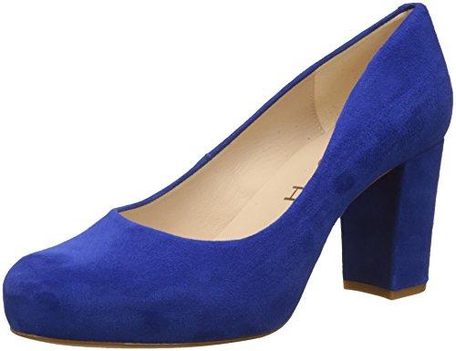 Unisa Women's NUMIS_18_KS Closed Toe Heels, Blue (Sapphire Sapphire), 5 UK