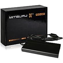 Mitsuru® Super Slim 90W Notebook adaptador cargador compatible con Packard Bell EasyNote TJ77-JN-522, TJ77-JN-065, TJ76-JU-472, TJ76-JU-130, TJ76-JO-723, TJ76-JO-555, TJ76-JO-543, TJ76-JO-451, TJ76-JO-436, TJ76-JO-434, TJ76-JO-432 , con eurocable