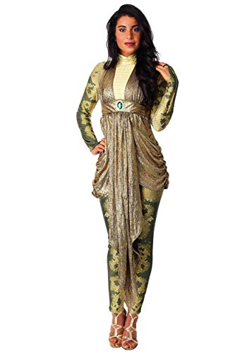 Kostüm Für Perseus Erwachsenen - Women's Deluxe Medusa Fancy Dress Costume X-Large