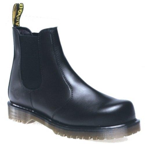 Dr. Martens Safety Chelsea Boot, Herren Sicherheitsschuhe, Schwarz - schwarz - Größe: 39.5 (Martens Boot Safety)