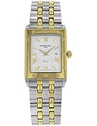 Raymond Weil Tango Two-Tone Stainless Steel & 18k Gold Mens Watch Calendar 5381-STP-00308