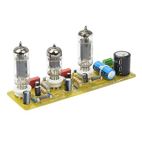 aiyima Vakuum Röhrenverstärker 6N1+ 6P1Ventil Stereo Verstärker Board-AC Netzteil + 3Röhren