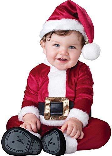 Fancy Me Baby Mädchen Jungen Weihnachtsmann Weihnachtsmann Anzug Weihnachten Festlich Kostüm Kleid Outfit 0-24 Months - Rot, 0-6 Months (Weihnachtsmann Baby Anzug)