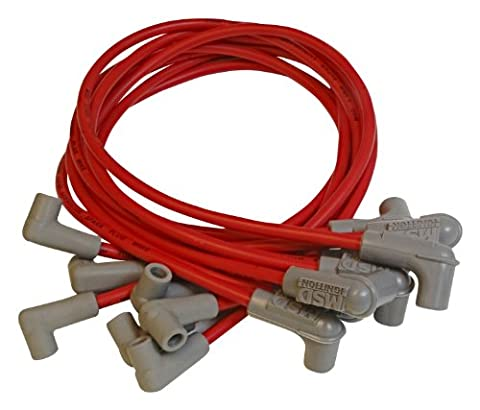 MSD Ignition Super Conductor Spark Plug Wire Set - Chevy Caprice/Camaro '88-On PN: 31839
