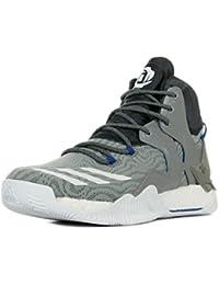 new product fede1 86fe5 adidas D Rose 7 Scarpe da Basket Uomo, Grigio (Grpuch Ftwbla Grpudg