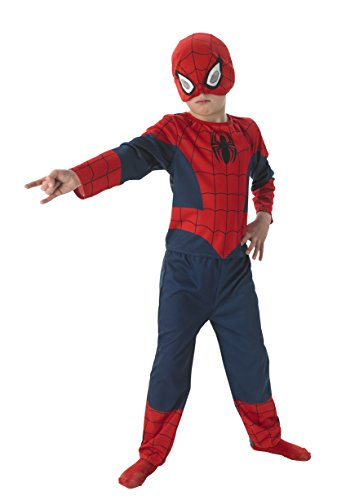 Rubie's 3889569 - Ultimate Spiderman Classic 3pcs Child, -