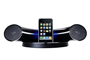 i-Curve iPod Speaker Dock With Remote For Apple iPhone, iPod Nano/Touch/Classic/MP3