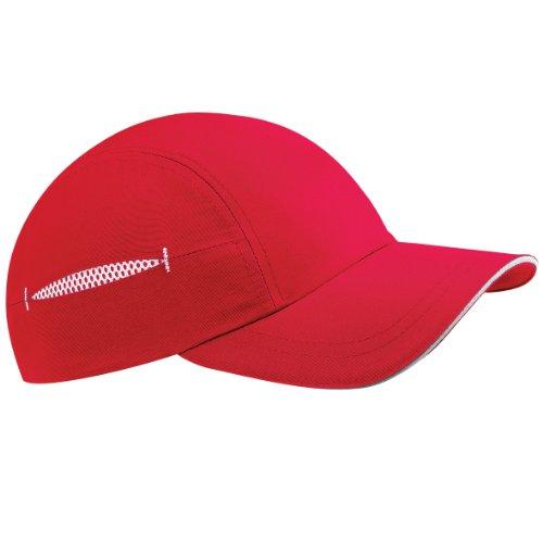 Beechfield - Casquette de baseball - Homme Rouge