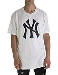 47 Brand MLB New York Yankees Camiseta Hombre Beige S (Small) 00d4104aa12