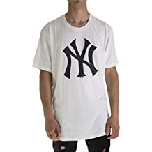 47 Brand MLB New York Yankees Camiseta Hombre Beige S (Small) 5c5d3b5bb52