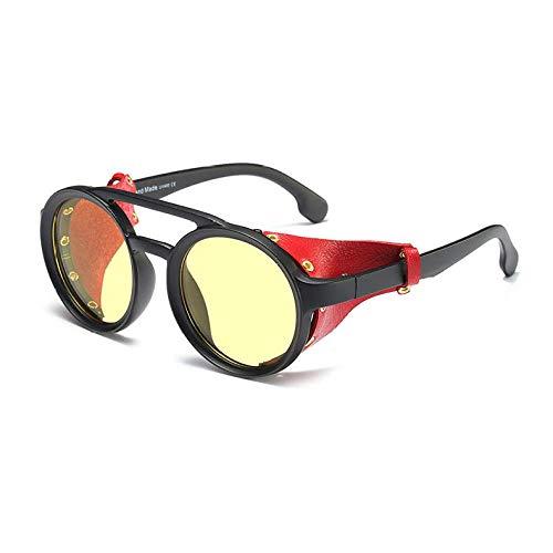2THTHT2 Gotische Steampunk Sonnenbrille Männer Frauen Mode Coole Niet Sonnenbrille Retro Vintage Schild Eyewear Schattierungen