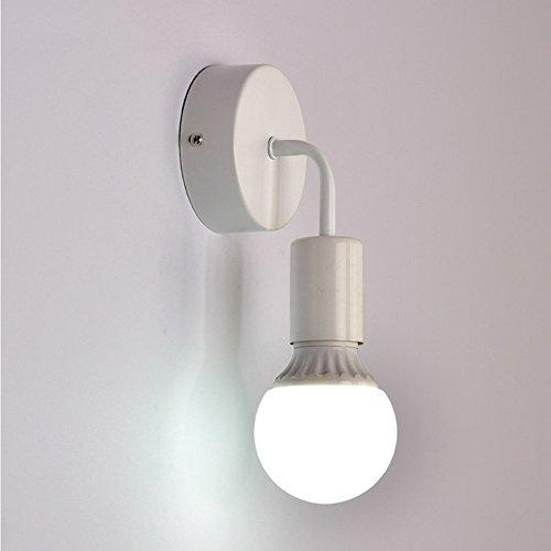 Aplique E27Portalámparas Retro Industria lámpara