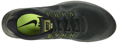 Fiume Running Free Chaussures Nike verde Rock Multicolore Nero De Esterna Homme Nero Rn 2017 HqPqw6a