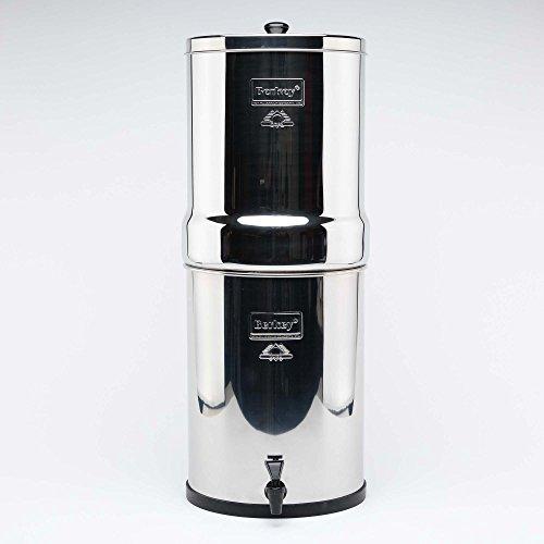 Imperial Berkey Wasser Filter mit 2schwarz Reiniger Elements Filtration System UK ~ Best Gravity basierend Wasser - Kühlschrank-edelstahl-reiniger