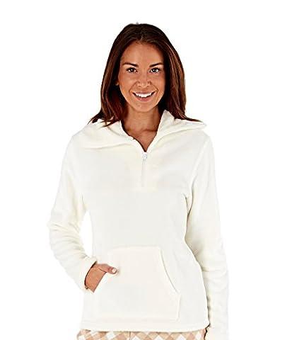 Inspirations Women's Winter Wonderland Snuggle Top (12-14) Cream