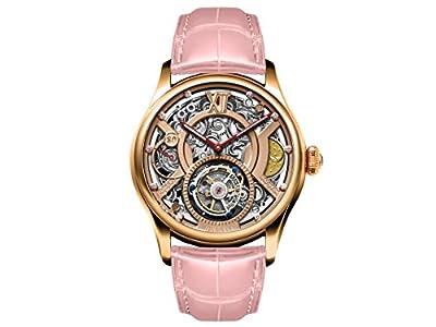 Memorigin Time Witness Series Tourbillon Watch Pink version Watch designed by Daniel Chan