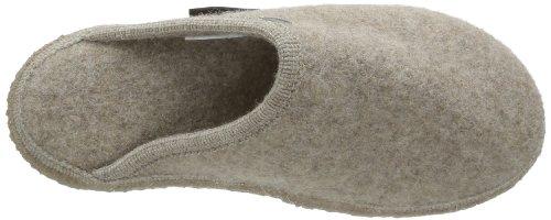 Giesswein - Tino, Pantofole unisex Beige (268 Natur)