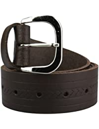 9cbdb4b8a9f2df Ledergürtel Herren Echt Leder Gürtel   Made in Germany  7 verschiedene  Musterungen schwarz / hellbraun / dunkelbraun / rot  …