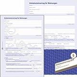 AVERY Zweckform 5 x Vordruck Mietvertrag A4 4-seitig