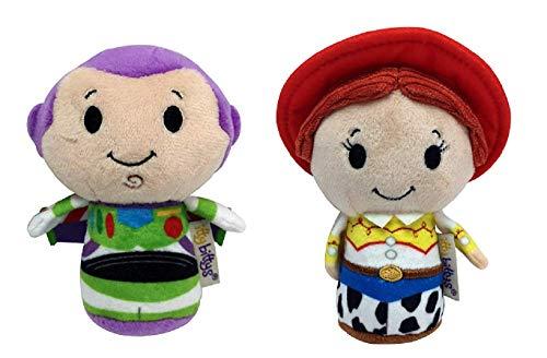 Toy Story Itty Bitty Buzz and Jessie Set of 2 Soft Toys