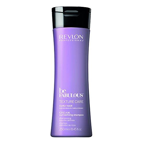Revlon Be Fabulous Curly Shampoo 250 ml Shampoo für flexible und gut definierte Locken