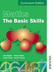 Maths the Basics Functional Skills Edition (E3-L2): Student Book (E3-L2) (Levels 1 and 2 and 3)