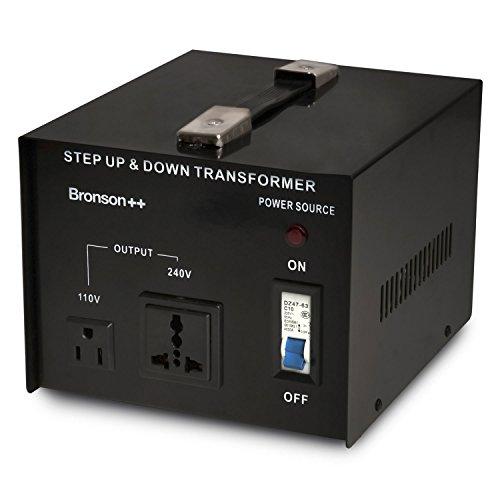 110 Volt Step Up / Down - Spannungswandler / Transformator / Konverter - Bronson 3000 Watt 110V 3000W (Konverter 220v Auf 110v 3000w)