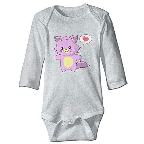Baby Daisy Kostüm - Daisy Evans Rosa Katze Baby Body schöne Strampler aus Baumwolle Strampler Kostüm, 18M